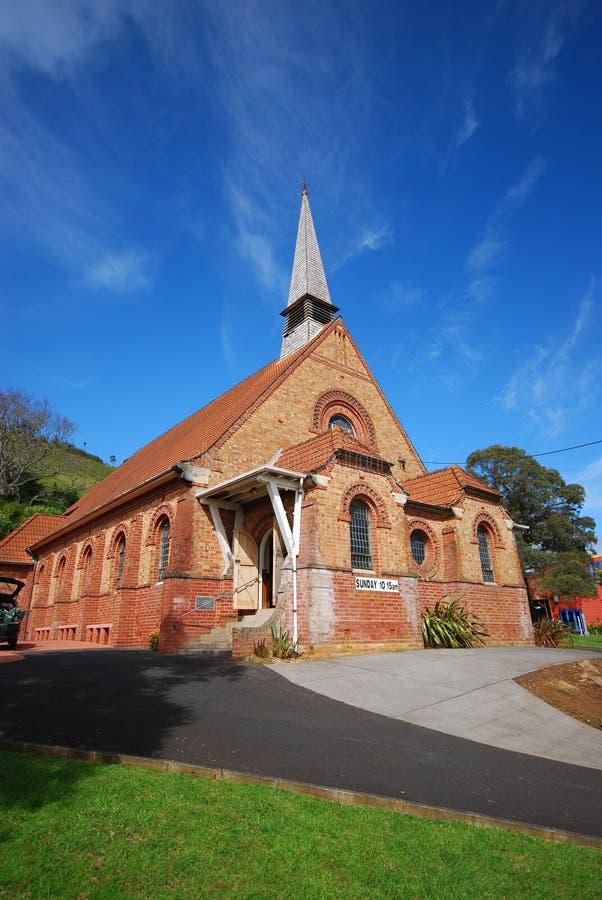 St Pauls (iglesia y pasillos) Auckland fotos de archivo