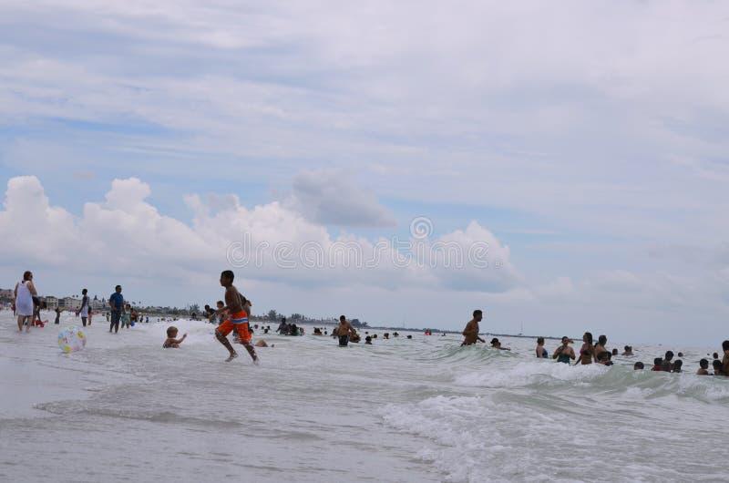St Pete Beach en St Petersburg, la Florida fotografía de archivo