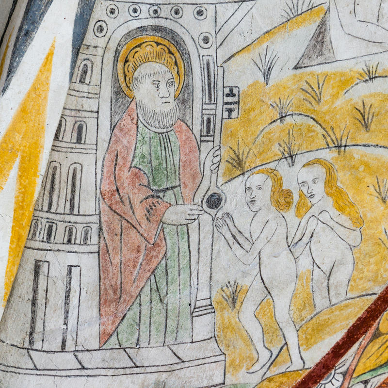 St Peter avec les clés du royaume, photo libre de droits