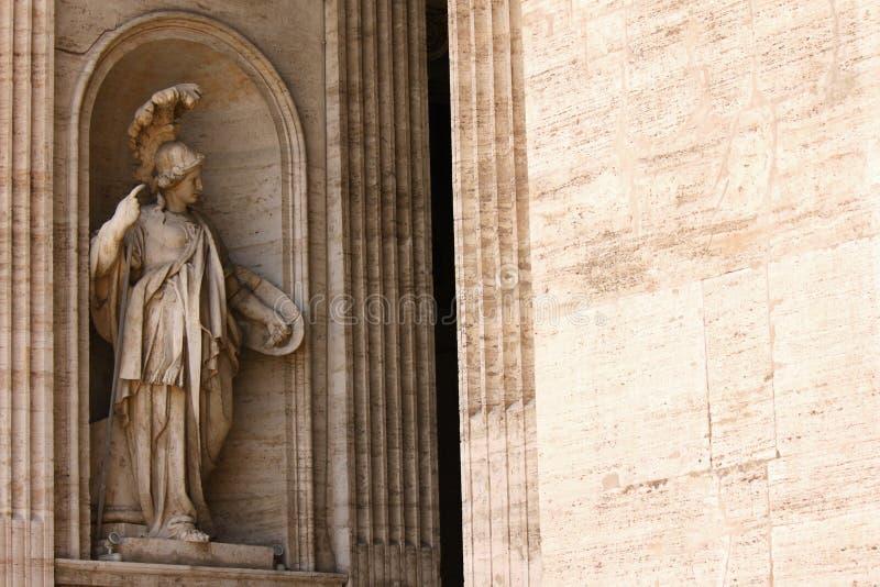 St Peter Basilika in St Peter Quadrat, Vatikanstadt stockfoto