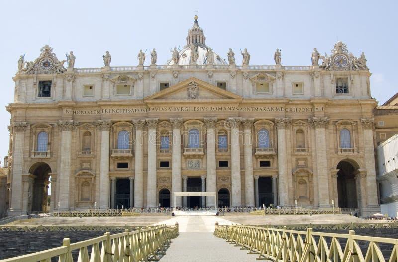 St. Peter Basillica royalty-vrije stock foto's