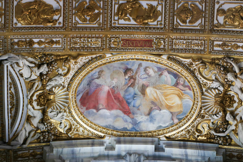 St Peter bazylika, Watykan obrazy royalty free