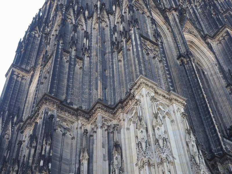 St Peter Cathedral in Koeln royalty free stock images