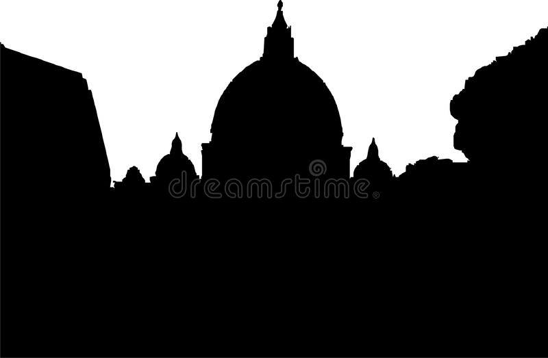 St. Peter cathedral in Rome