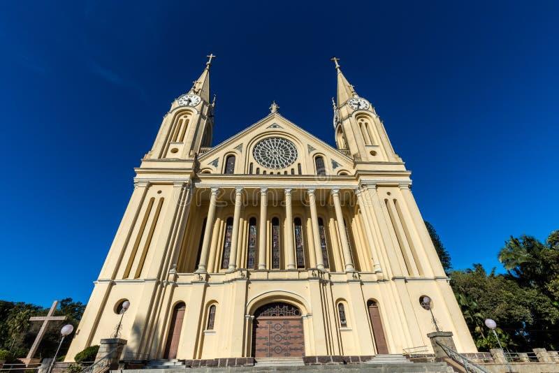St Peter Catherdal Gaspar stad arkivbild