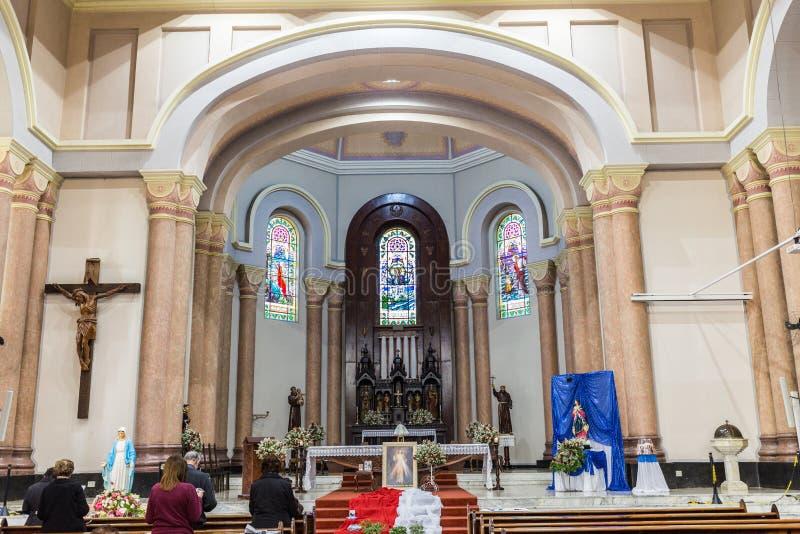St Peter Catherdal Gaspar stad arkivbilder