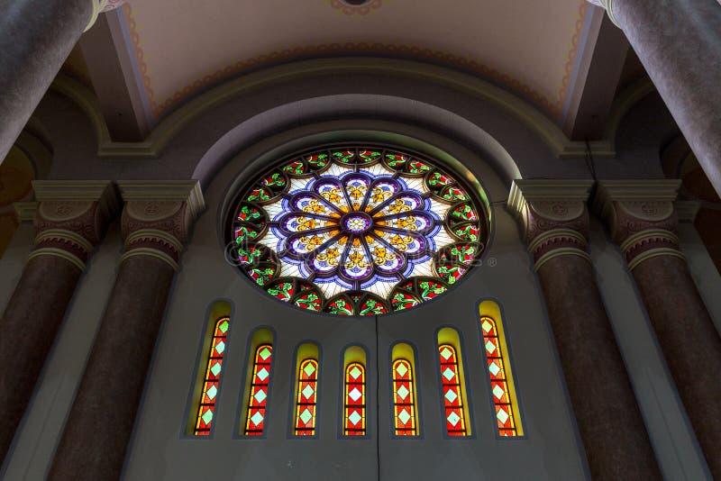 St Peter Catherdal Gaspar stad royaltyfri fotografi