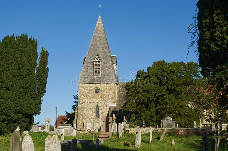 St Peter Church, Chailey, Sussex, England arkivbilder