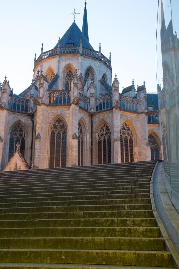 St Peter Church Leuven immagine stock libera da diritti