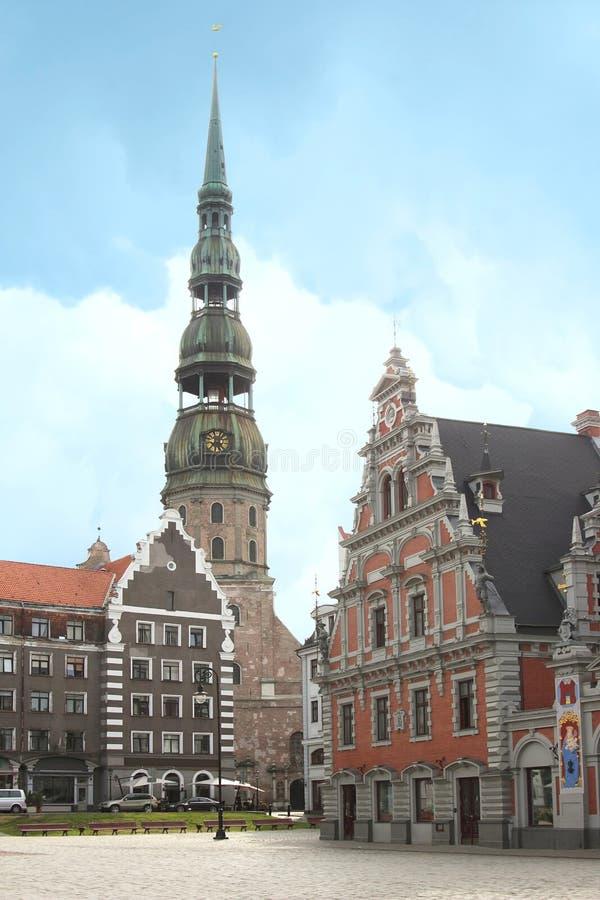 St Peter Church, Riga photo stock