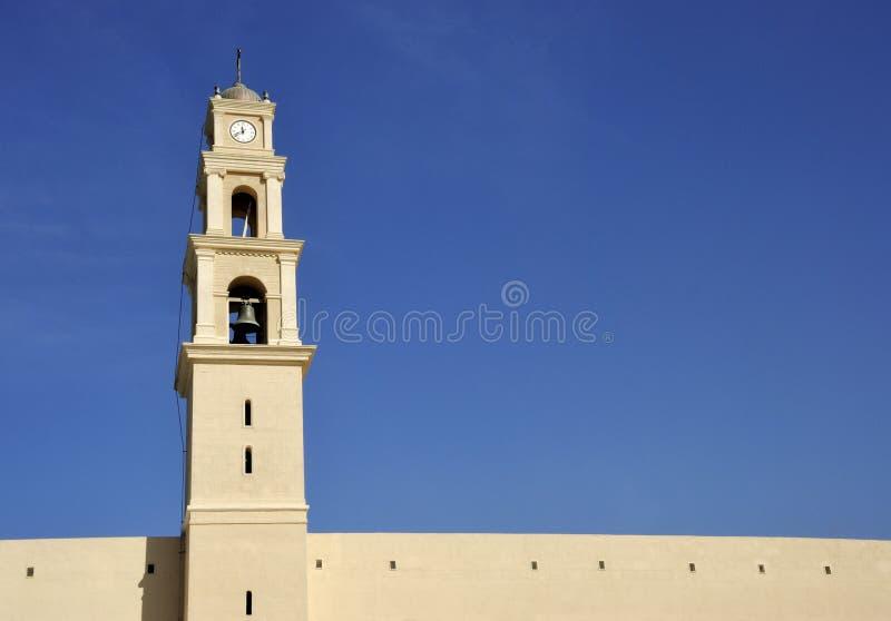 St Peter della chiesa di Jaffa fotografia stock