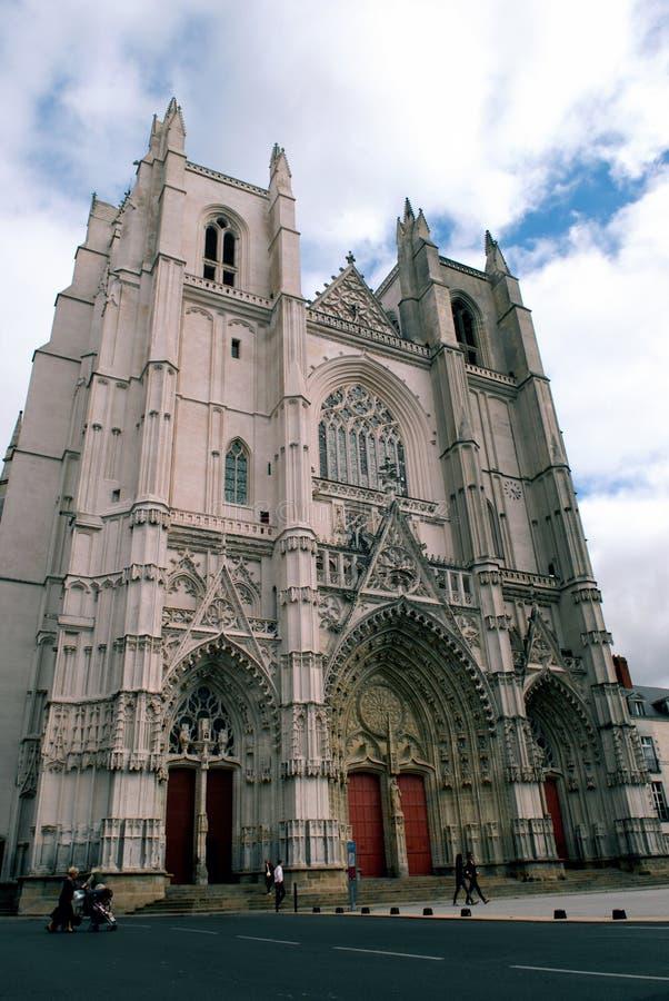 St Peter e st Paul Cathedral, Nantes fotografia stock