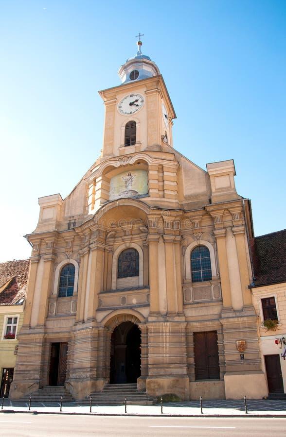 St Peter e Paul Church in Brasov, Romania fotografia stock libera da diritti