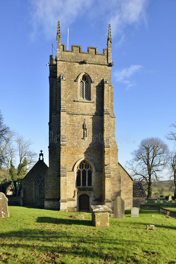 St Peter e st Paul Church, Charlton Horethorne fotografie stock libere da diritti