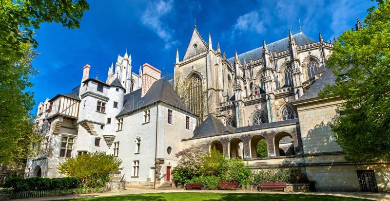 St Peter e st Paul Cathedral di Nantes - la Francia fotografie stock libere da diritti