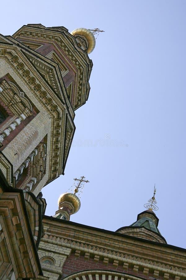 ST. PETER EN DE KERK VAN PAUL stock foto's