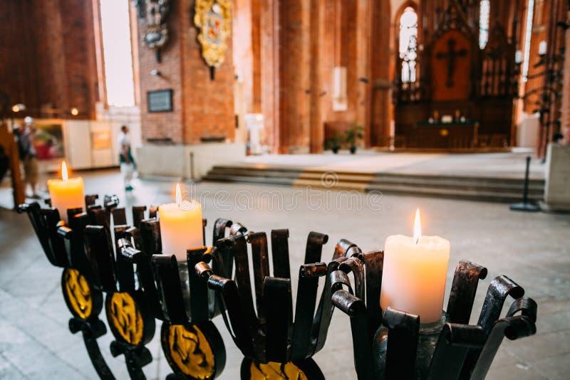 St Peter et x27 ; église de s à Riga, Lettonie images libres de droits