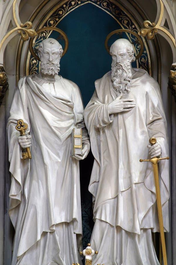 St Peter et Paul images libres de droits