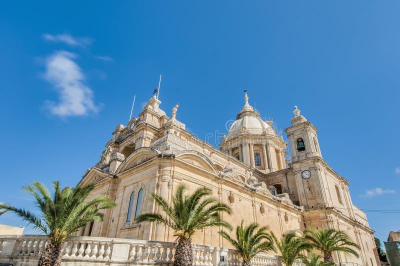 St Peter et Sant Paul dans Nadur, Malte photos stock