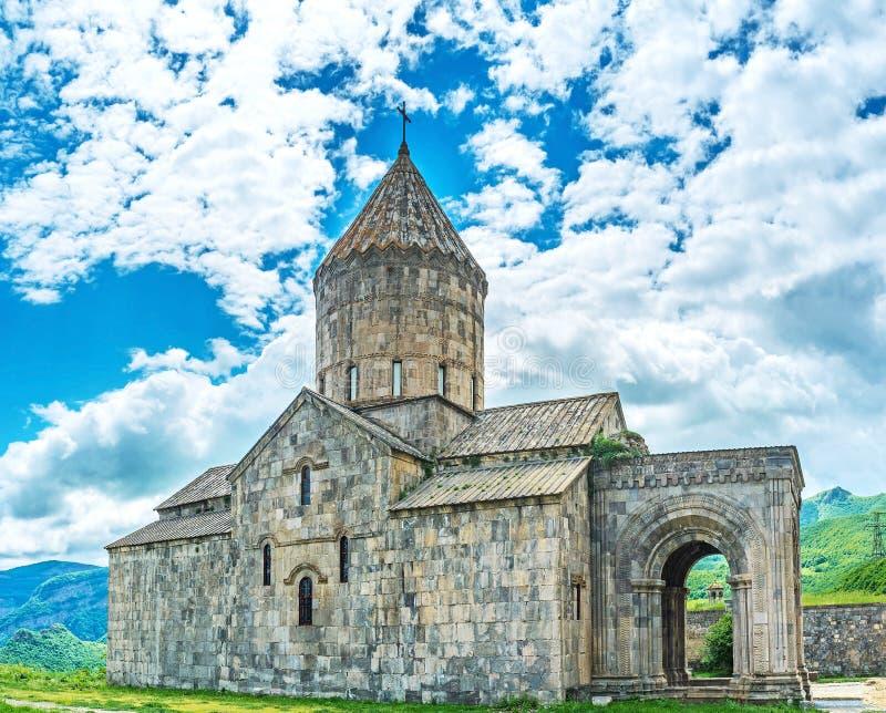 St Peter i Paul katedra Tatev monaster zdjęcia stock