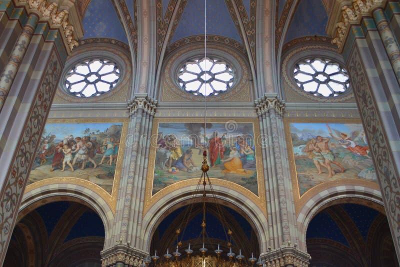 St Peter katedra w Ä  akovo obrazy royalty free
