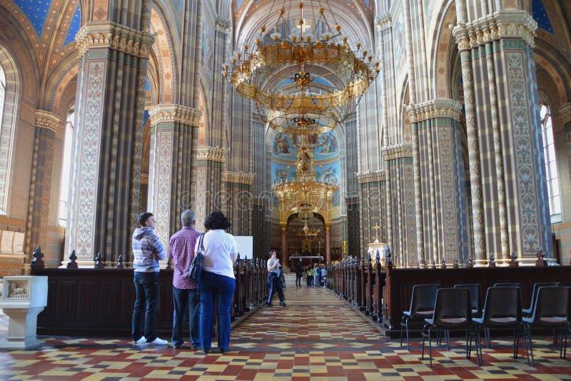 St Peter katedra w Ä  akovo obraz stock