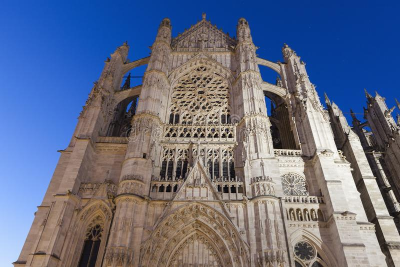 St Peter katedra w Beauvais fotografia royalty free