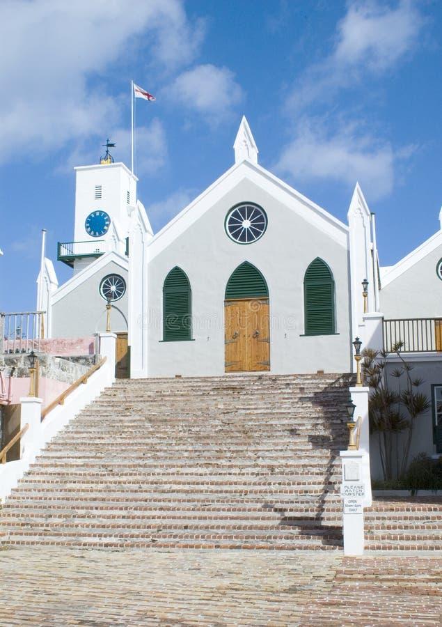 St. Peter Kerk - de Bermudas stock afbeeldingen