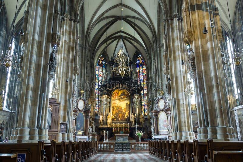St Peter Kerk (Peterskirche) royalty-vrije stock afbeeldingen