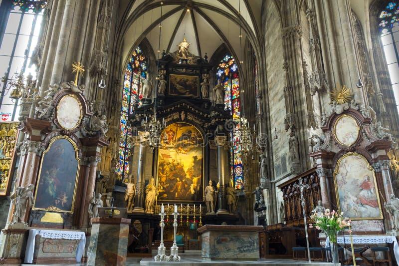 St Peter Kerk (Peterskirche) stock foto's
