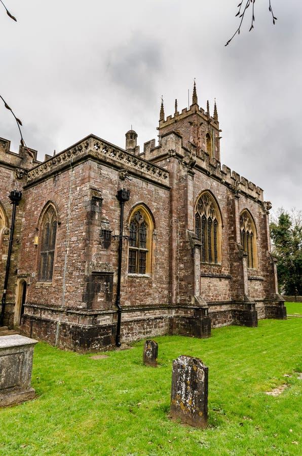 St Peter kościelny Tiverton zdjęcie stock