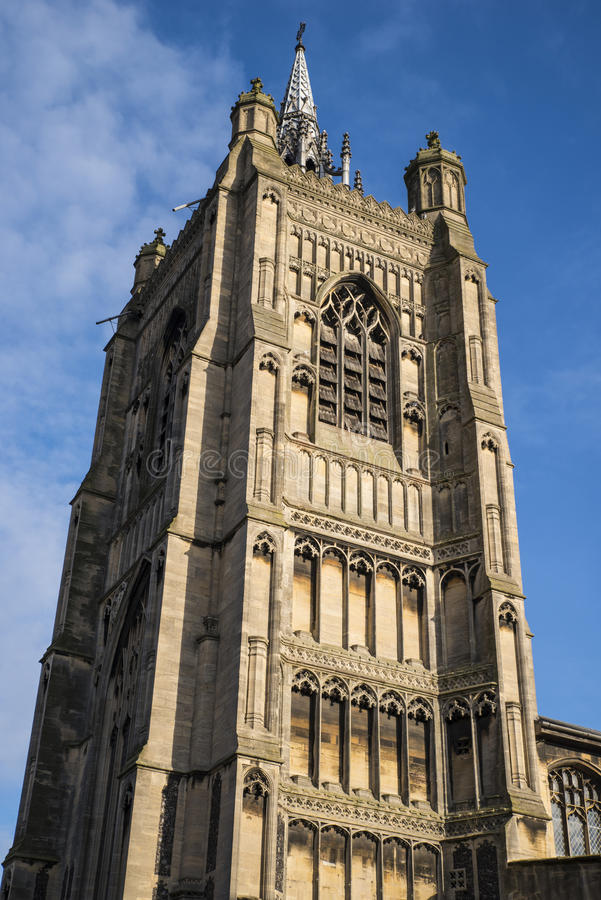 St Peter Mancroft Church à Norwich photos stock