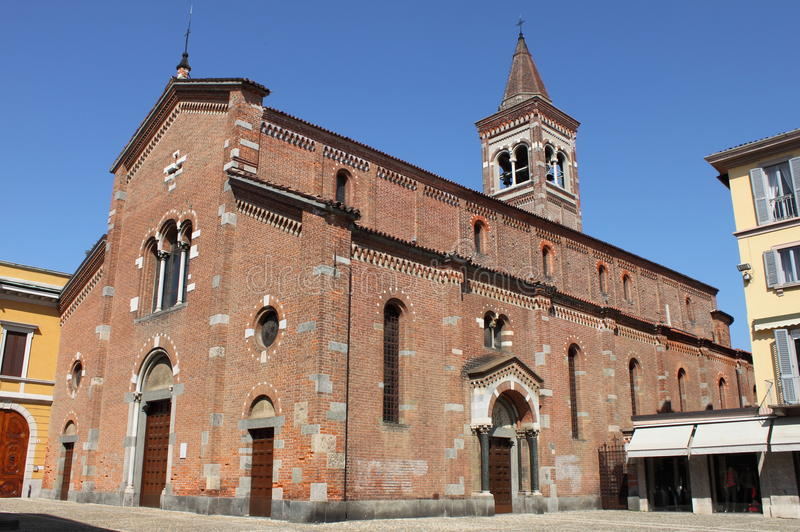 St. Peter Martyr church in Monza royalty free stock photography