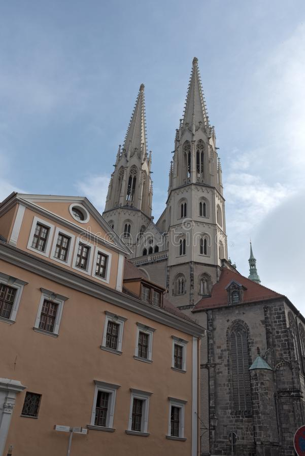 St. Peter and Paul church in Goerlitz, Germany royalty free stock image