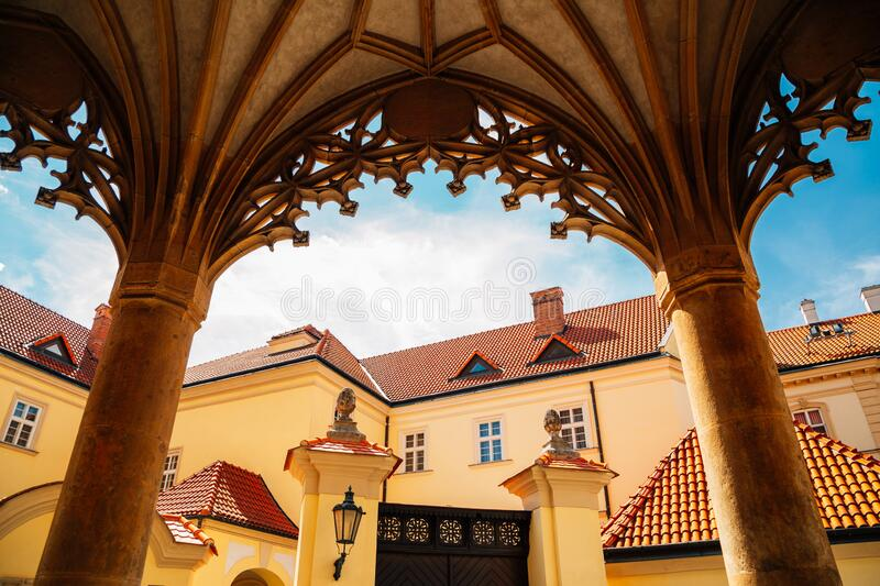 St. Peter and Paul`s Cathedral in Brno, Czech Republic. Europe stock images