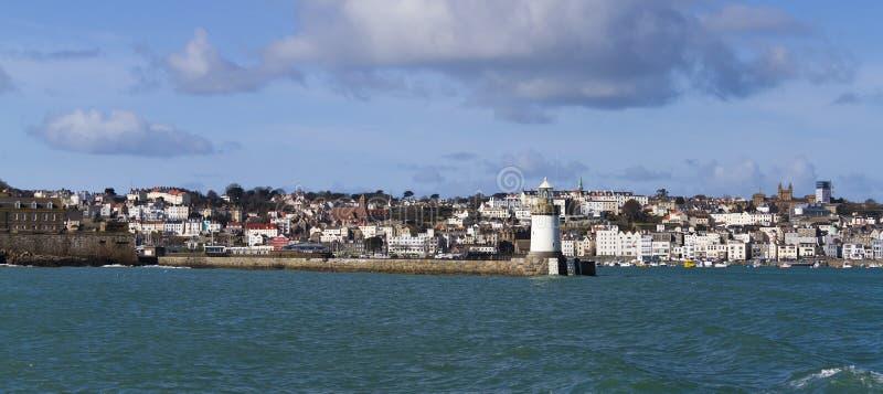 St Peter port Guernsey zdjęcia stock