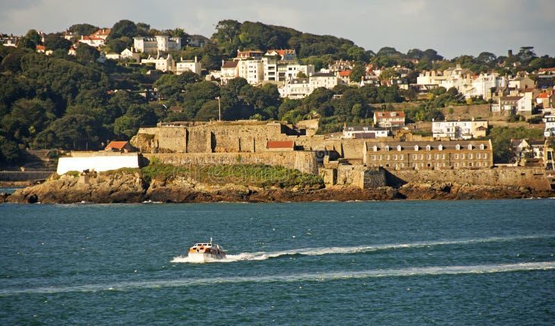 St Peter Port Guernsey foto de stock royalty free