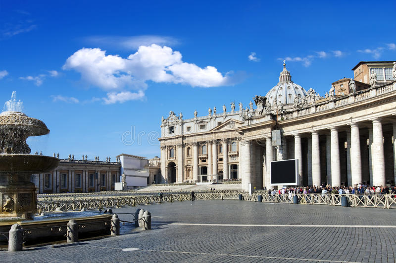 St. Peter's Basilica royalty free stock images