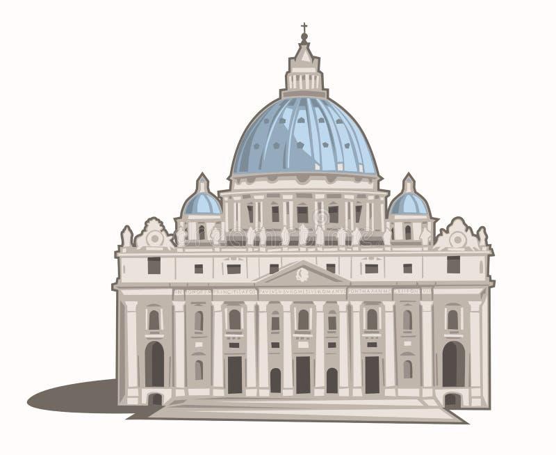St. Peter's Basilica Stock Photo. Image Of Buonarotti