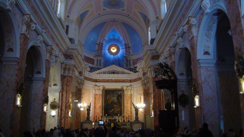 St. Peter`s Church, a Franciscan church in old Jaffa, Tel Aviv, Israel stock image