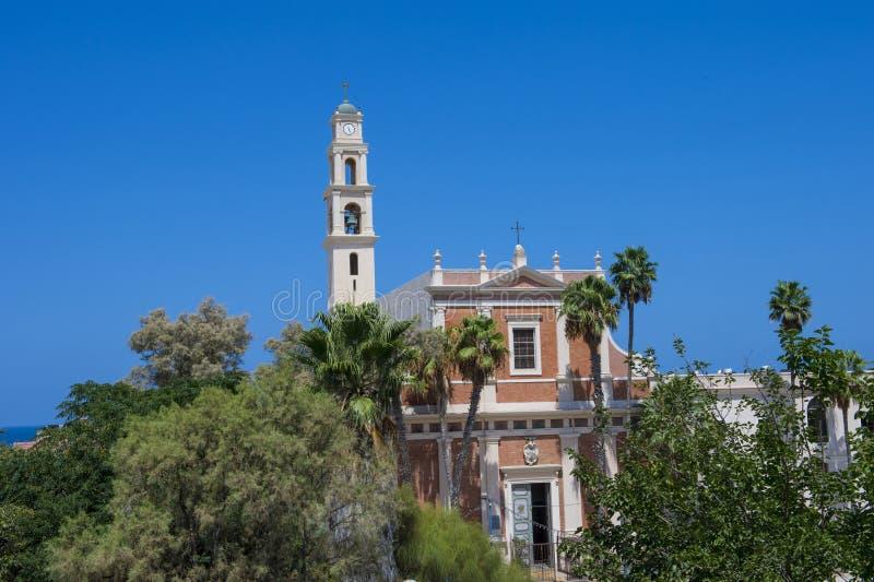 St. Peter's Church, Jaffa royalty free stock image