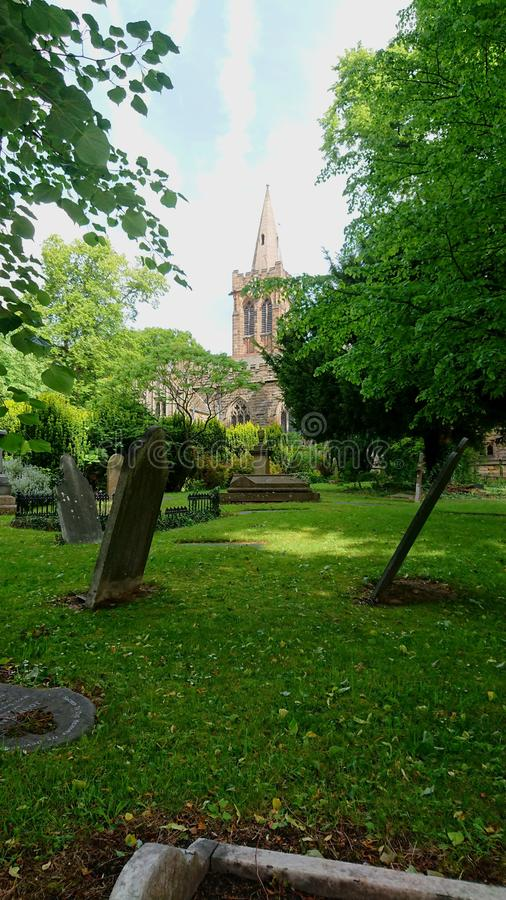 St Peter & x27;s Church Ruddington, Nottingham zdjęcia royalty free