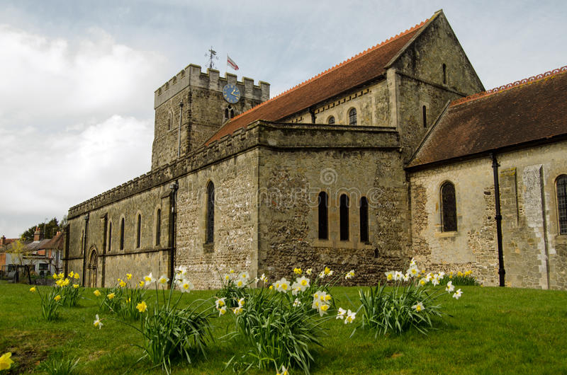Download St Peter's Church In The Spring, Petersfield Stock Photo - Image: 34367264