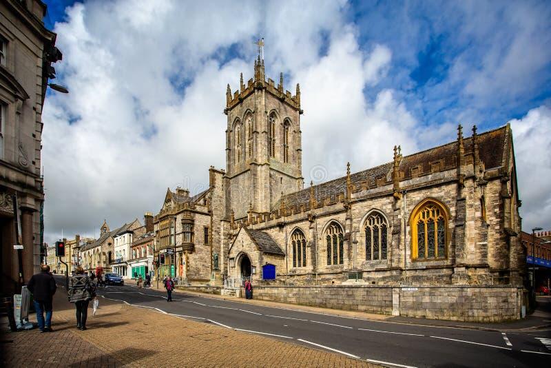 St Peter ` s Kerk in Dorchester royalty-vrije stock fotografie