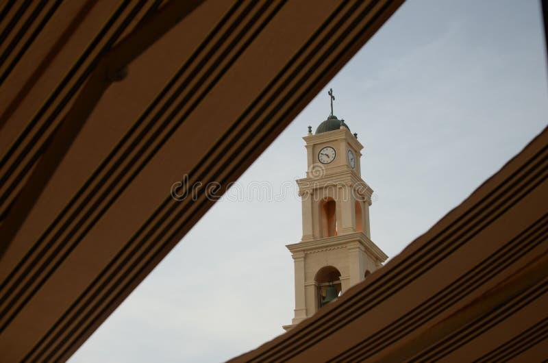 St Peter ` s Kerk, Jaffa, in Tel Aviv, Israël royalty-vrije stock foto's