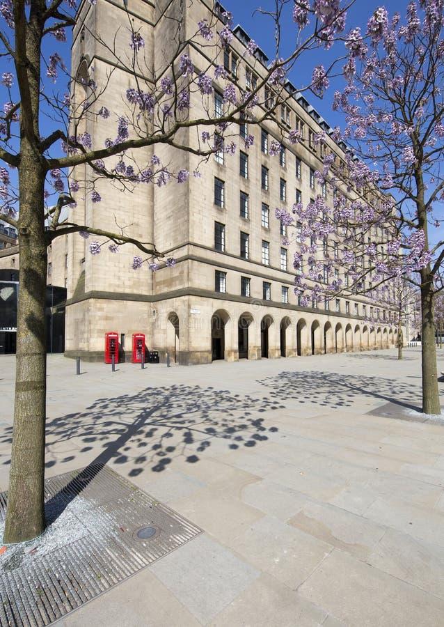 St- Peter` s Quadrat u. Stadt Hall Extension stockbilder