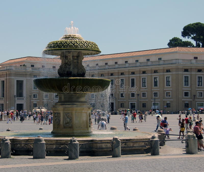 Download St. Peter's square editorial photo. Image of historic - 26590941