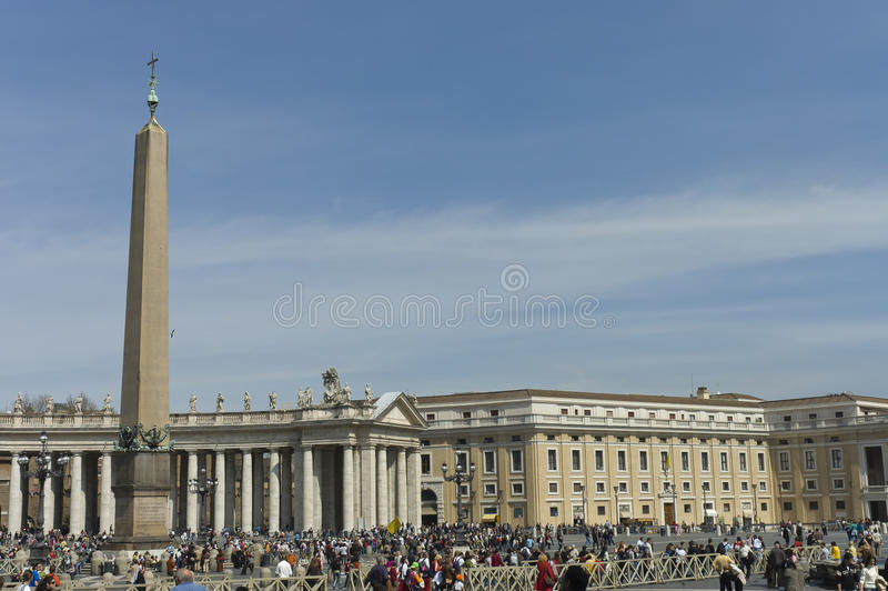 St Peter scenic view, Rome stock photography