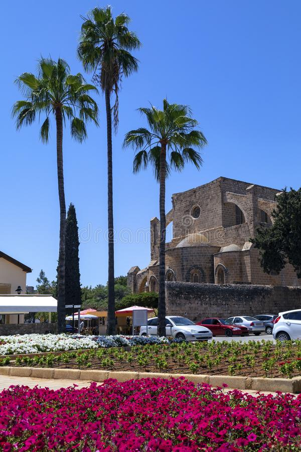 St Peter and St Paul Church - Famagusta - Turkish Cyprus royalty free stock image