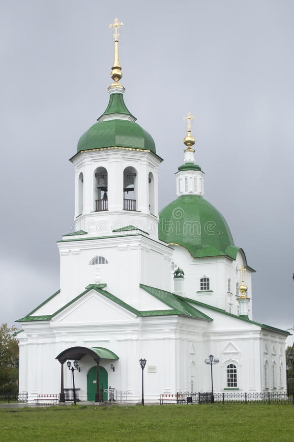 St. Peter and St. Paul's Church. Tobolsk royalty free stock images